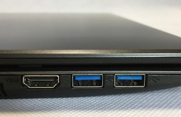 LB-F531XN2-SSD左側面拡大