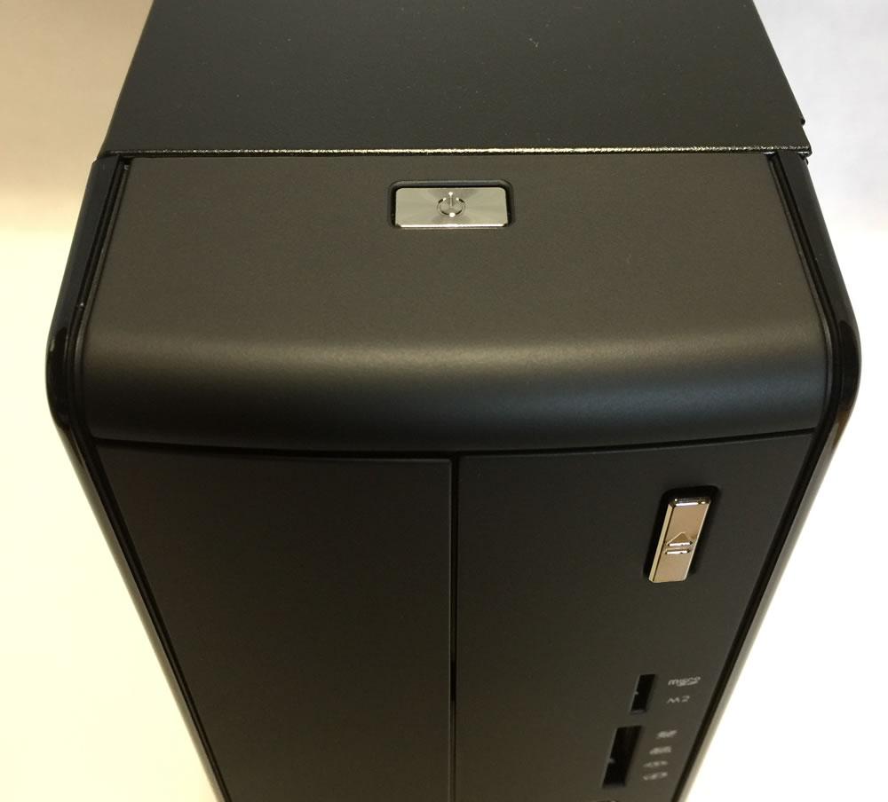 マウスコンピュータースリム型 LUV MACHINES Slim電源ボタン