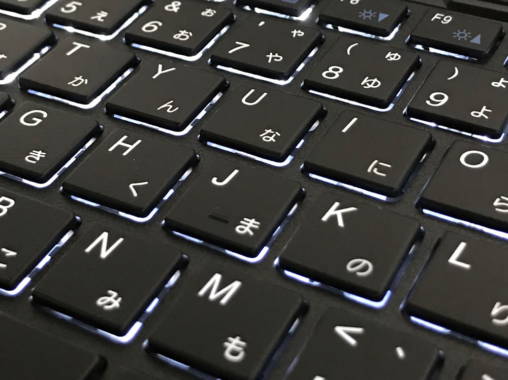 G-TUNE-i5320GA1キーボード